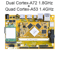 New Android single board computer with Rockchip RK3399