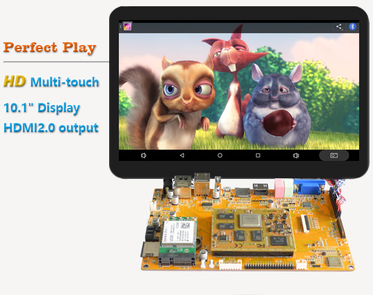 Low cost Rockchip RK3288 embedded solution dual boot Android and